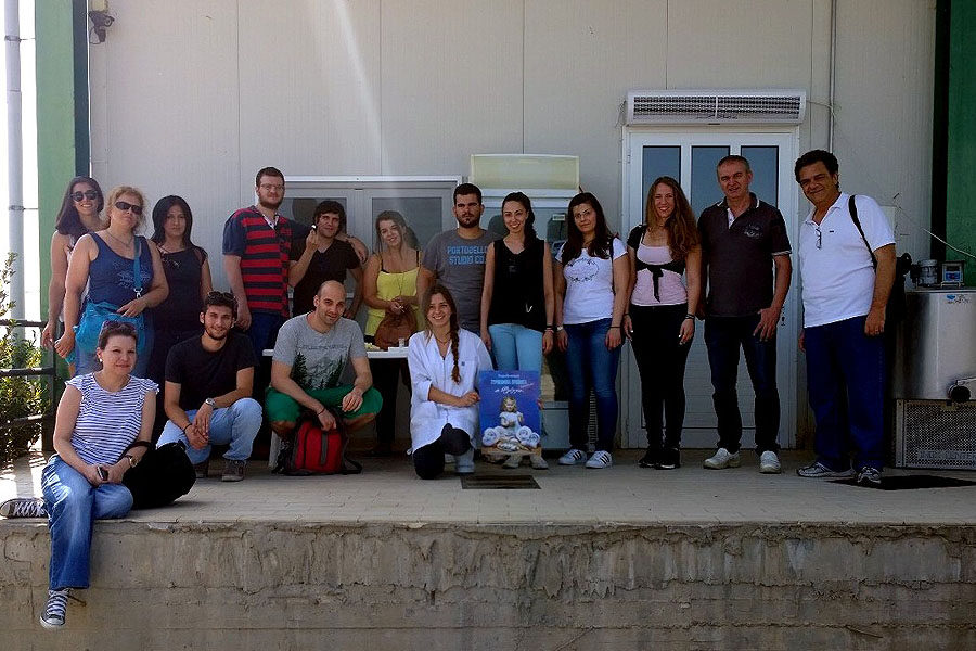 Visiting of postgraduate students of Agricultural University of Athens