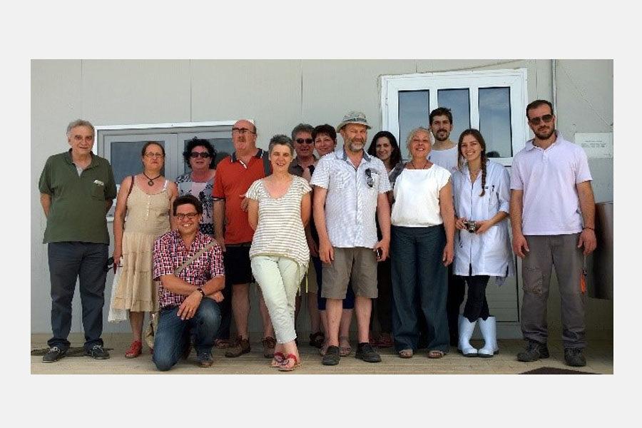 Επίσκεψη Γάλλων τυροκόμων
