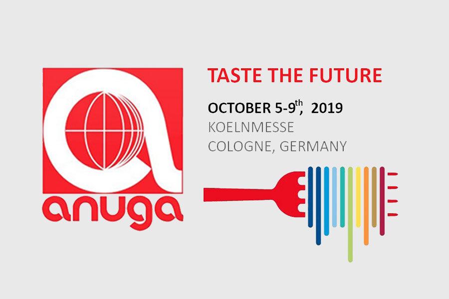 Η συμμετοχή μας στη διεθνή έκθεση τροφίμων Anuga 2019